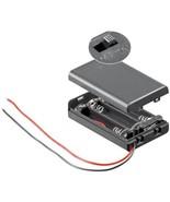 3x AAA (Micro) Batteriehalter - lose Kabelenden, wasserabweisend, schaltbar - $3.70