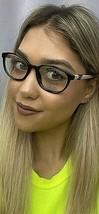 New LIU JO LJ 2631 LJ2631 001 Black 52mm Rx Cats Eye Women's Eyeglasses Frame  - $99.99