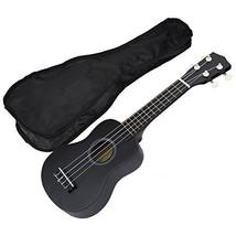 Dilwe 21 Zoll 4 Strings Ukulele, Musikinstrument Spielzeug Ges(Schwarz) - $64.09