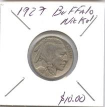1927 BUFFALO NICKEL - $9.90