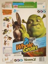 MT Cereal Box SHREK 2 2005 12.25oz FRAME UP [G7D5a] - $10.56