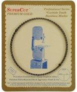 "SuperCut B121.5G38H4 Carbide Impregnated Bandsaw Blade, 121-1/2"" Long - ... - $31.59"