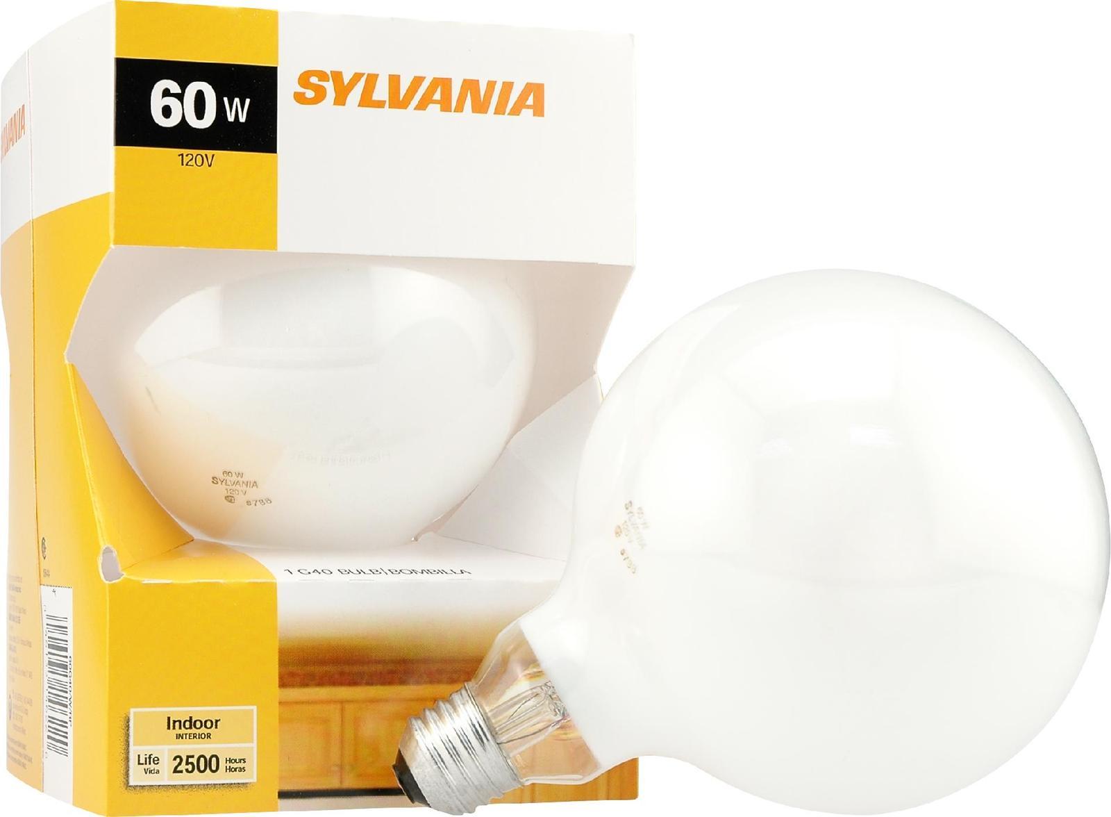 SYLVANIA Soft White Globe, 60 Watt - $15.22