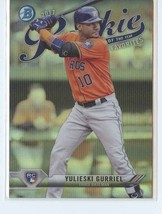 YULIESKI GURRIEL MEGA BOX RC 2017 Bowman Chrome Rookie/Year Favorites Re... - $2.25