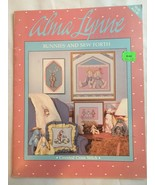 1 Vintage 1987 Alma Lynne Designs Bunnies and Sew Forth Booklet Cross St... - $7.49