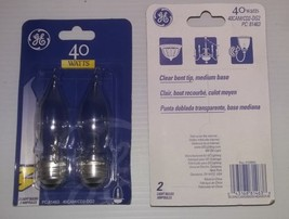 GE 40 watt Bent Tip 2 Pack - $3.55