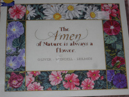 The Amen of Nature Counted Cross Stitch Kit by Janlynn* - $17.80