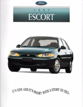 1997 Ford ESCORT sales brochure catalog 97 US LX - $6.00