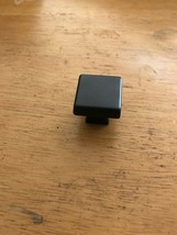 BP55271BBR Amerock Kitchen Cabinet Blackrock Knobs 30mm Black Bronze - $4.21