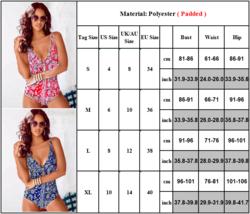 Women's One Piece Bohemian Print Fashion Swimsuit image 3