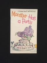 "Vintage 1973 Set of 3 ""Monster"" books from Bowmar image 5"