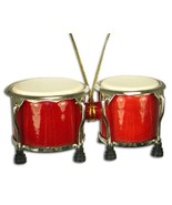 "Miniature Bongo Drum Christmas Ornament 4"" - $16.62"