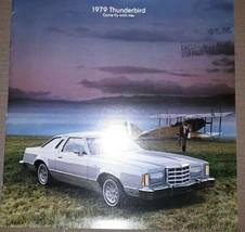 1979 Ford Thunderbird Brochure Town Landau Heritage Excellent Original 79 T-bird - $12.86