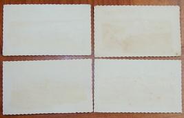 Lot of 4 Vintage Shannah Tovah Greeting Cards Rare Judaica 1960's Israel image 5