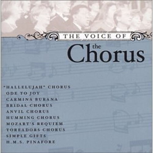 The voice of the chorus by various