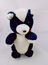 "Dakin Skunk Plush 8"" Tall 1985 Stuffed Animal - $13.60"