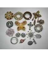 Vintage Costume Rhinestone Jewelry Lot Bling C2906 - $43.44