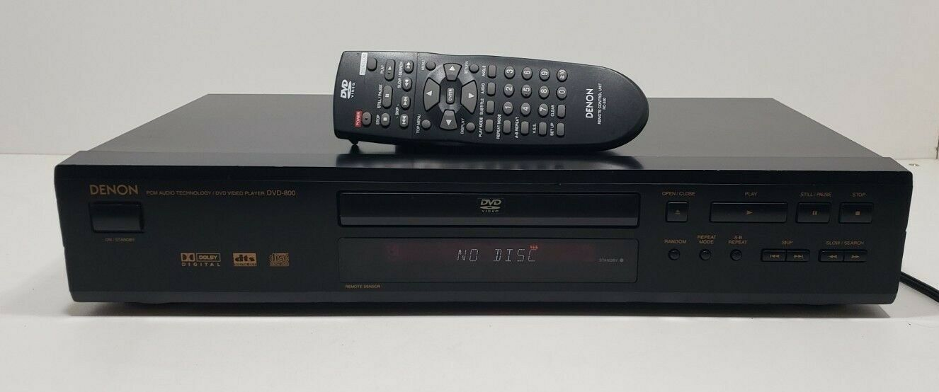 Denon DVD Video Player DVD-800 With Remote Fully Tested