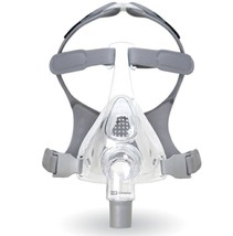 Large Fisher Paykel Simplus Full Face CPAP Mask With Headgear 400477 Com... - $87.70