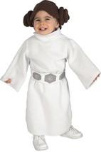 Rubini Principessa Leia Star Wars Jedi Bambino Bimbo Ragazze Costume Hal... - $23.09