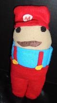 "Handmade 10"" Super Mario Bros  Mario Nintendo Stuffed Plush Toy Doll - $6.92"