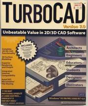 IMSI TurboCad Version 7.0 64MB RAM Windows 95/98/ME/2000/NT 4.0 New Sealed NOS - $97.99