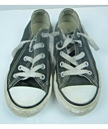 CONVERSE Black & White All-Star Youth Kids Size 12 Low Top Shoes Sneakers - $12.19