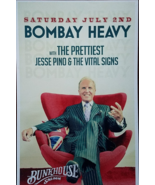 "Bombay  w/ The Prettiest Jesse Pino & Vital Signs Heavy Promo Poster 11""... - $5.95"
