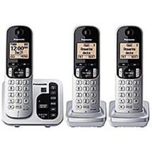 Panasonic KX-TG433SK DECT 6.0 3-Handset Cordless Phone - Black - $57.98