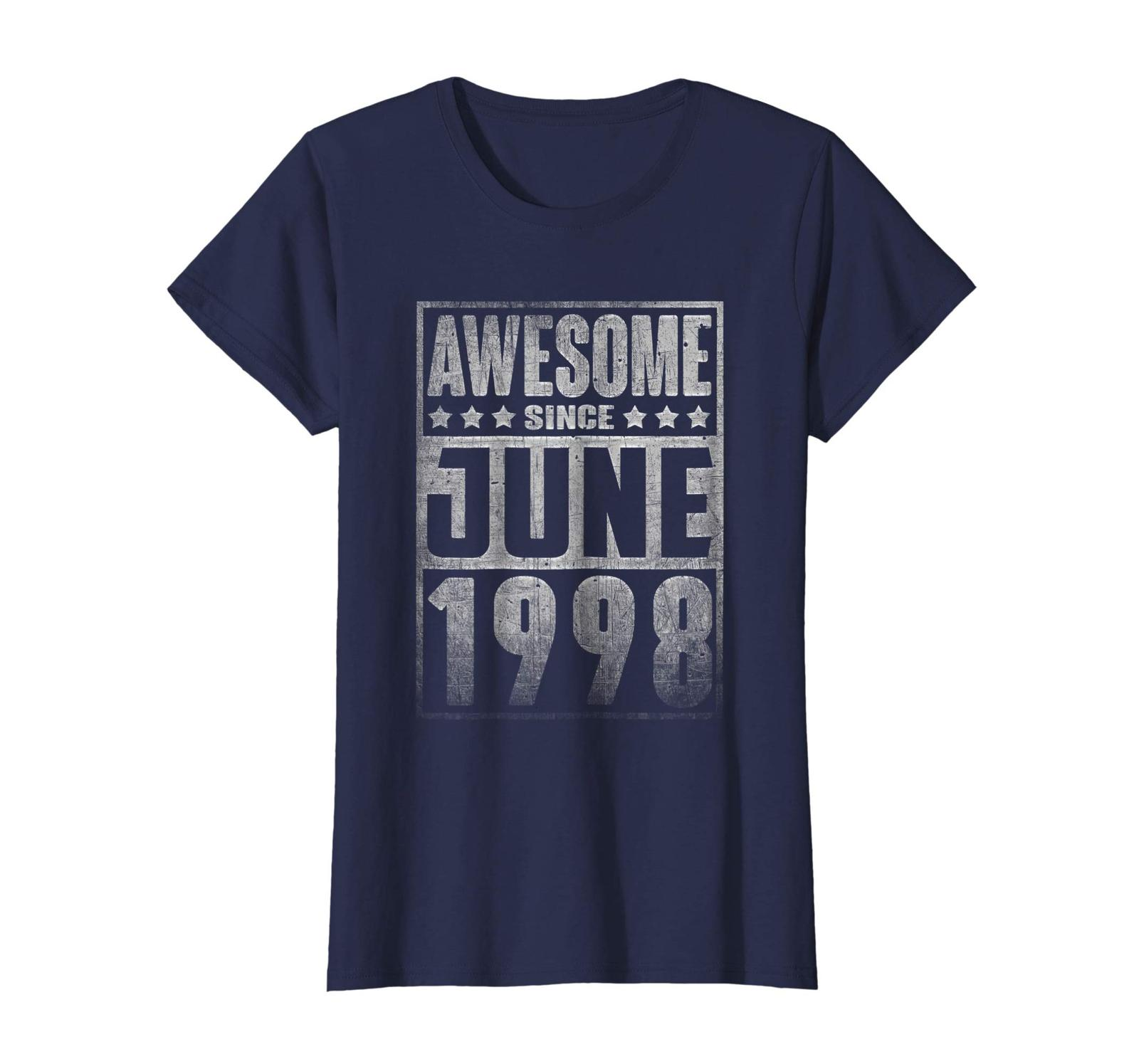 Uncle Shirts -   Awesome Since JUNE 1998 Straight Outta 20 Years Old Being Wowen