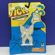 The Tick action figure mini Bandai 1994 Fox moc retro vintage Arthur Mot... - $28.87