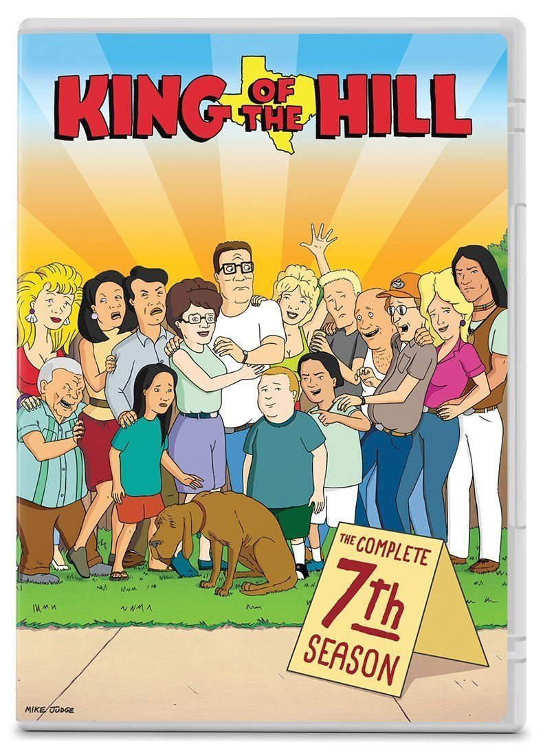 King of the Hill Complete 7th Seventh Season 7 Seven DVD Set Series TV Show Anim