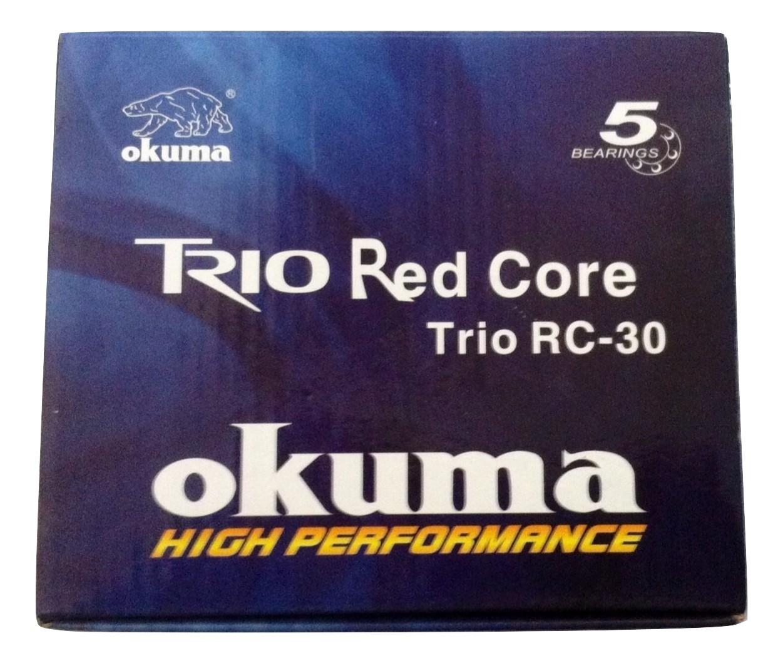 Okuma Trio Red Core 30 Spinning Reel - Black/Red, 5 BB -