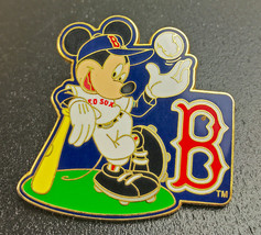 Boston Redsox  Mickey Mouse Walt Disney Pin Trading Pinback 2008 - $12.56