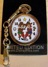 Chip 'n' Dale  S potlight Pocket Watches  Authentic Disney Pin - $45.00