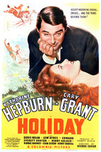 Katharine Hepburn and Cary Grant in Holiday 16x20 Canvas - $69.99