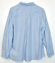 Eddie Bauer Women's Light Blue Long Sleeve Button Down Collared Shirt Size 2XL image 2