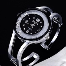 XINHUA watch Women Stainless Bracelet Bangle Rhinest Dress Feno - $11.25