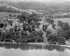 Mount Vernon George Washington estate aerial view above Potomac Photo Print - $8.81+