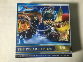 Puzzle The Polar Express (MasterPieces) 500 Pieces 24 x 18 Complete - $9.75