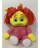 My Bedbugs plush doll Woozy yellow girl red hair pink outfit 2006 Greene... - $4.94