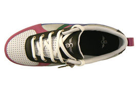 Creative Recreation Womens White Blue Fuchsia Black Galow Gym Shoes Sneakers 6US image 6