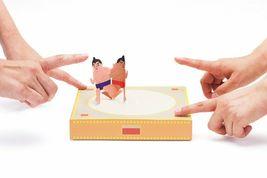 Paper Sumo by COCHAE Yosuke Jikahara and Miki Takeda Design Game Toy NIB image 6