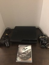 Sony Ps3 video console CECH-3001A-160GB, wires controller, cords used -g... - $79.13
