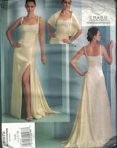 1075 non Découpé Vogue Couture Motif Femmes Robe Étole Soirée Chado Rucc... - $15.01