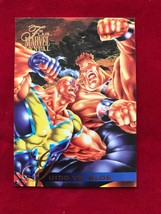 Marvel Flair Annual 1995 #30 Guido Vs Blob Single Card - $4.99