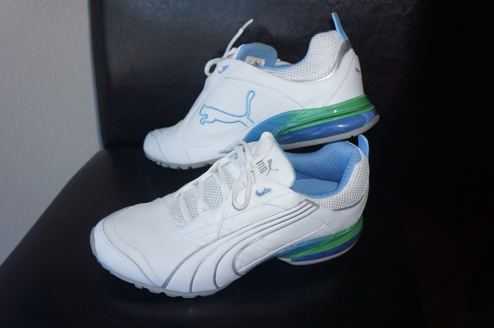 72db66f599a Puma Cell Inertia Fade White Blue Green and 50 similar items