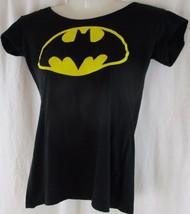 Juniors Batman Hooded Tee T-Shirt Size Medium Halloween Costume - $9.89