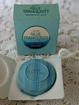 Vintage AVON Blue Tranquility Refreshing Soap-On-A-Rope, 5 oz., New in Box - $9.65