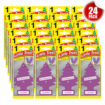 Little Trees Air Freshener Car Home Office Scent Hanging Lavender 24-Pac... - $25.98
